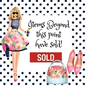 Everything is sold beyond this point!